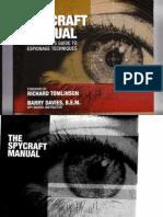 The Spycraft Manual - Barry Davies