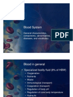 English 4th Blood System