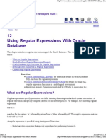 12 Using Regular Expressions With Oracle Database