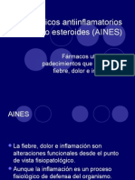 Analgésicos antiinflamatorios no esteroides (AINES)