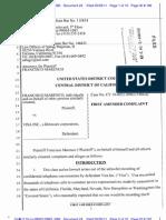 Marenco v Visa - 1st Amended Complaint