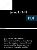 Preaching presentation James 1:12-18