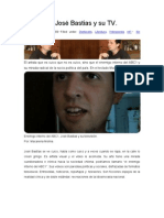 Videoarte- José Bastias y su TV