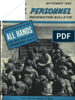 All Hands Naval Bulletin - Sep 1943