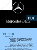 Market Analysis of Mercedes Benz