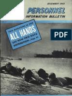 All Hands Naval Bulletin - Dec 1943