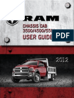 2012 Ram Chassis Cab User Guide