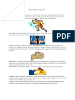 Physical Fitness Components