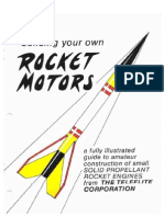 Making Model Rocket Chemical Motors