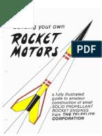 Making Model Rocket Chemical Motors