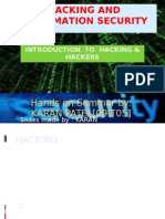 Hacking and Information Security