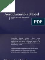Aerodinamika Mobil