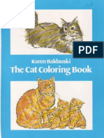 Dover the Cat Coloring Book