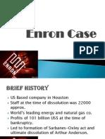 Enron Case