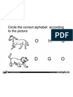 Circle Letter From Picture 3