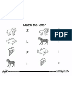 Match Letter From Picture