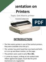 Presentation on Printers
