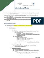 1. International Trade