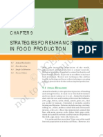 Strategies of Enhancement in Food Production