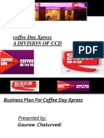 Business Plan for Caffe Coffe Day