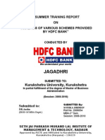 Schemes of Hdfc