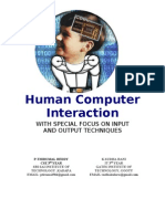 Future Human Computer Interaction