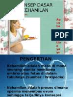 Konsep Dasar Kehamilan Ppt