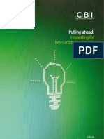 Pulling Ahead - Innovating for Low-carbon Leadership