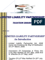 LLP and Taxation Issues