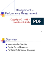 Investment Theory > Portfolio Management - Performance Measurement