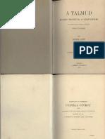 Huber Lipót - A Talmud, különös tekintettel az Újszövetségre - 1897