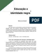 educação e identidade negra