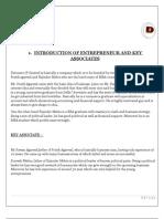 Project Report of Detonare (P) Ltd