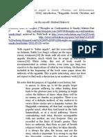 """Rabbi Leo Jung's introductory essay """"Haggadah"""