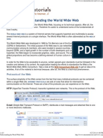 Understanding the World Wide Web