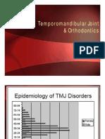 Temporomandibular Joint & Orthodontics-Seminar