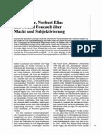 Max Weber, Norbert Elias und Michel Foucault über Macht und Subjektivierung