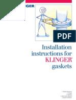 Installation Instructions for KLINGER Gaskets- Einbau_e