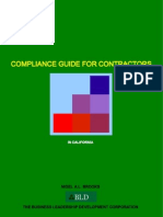 Compliance Guide For Contractors In California - Open Edition