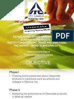 ITC Classmate-market research in madurai