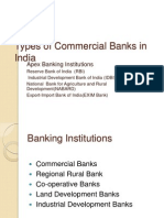 Commercial Banks in India and Their Roles.