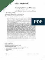 Prevalencia de trastornos psiquiátricos en pacientes infractores de ley