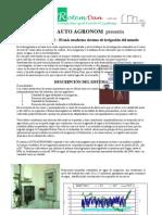 Auto Agronom Brochure in Spanish New