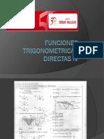 Funciones Trigonometric As Directas IV