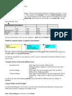 1b Spreadsheet Design