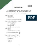 10 Mathematics Trigonometry Impq 1