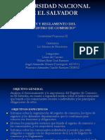 Registro de Comercio Conta III