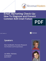 Marketo - The Email Marketing Check-Up