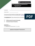 2012 International -Application Form
