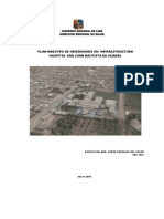 Plan Maestro Hospital Huaral